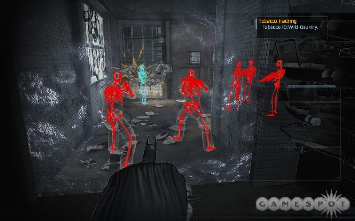 Screenshot of detective vision